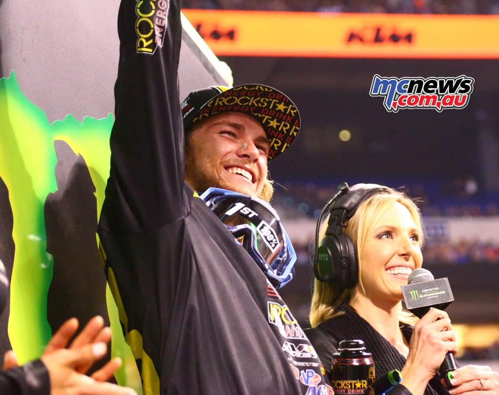 AMA SX 2016 - Round 13 - Indianapolis - Aaron Plessinger