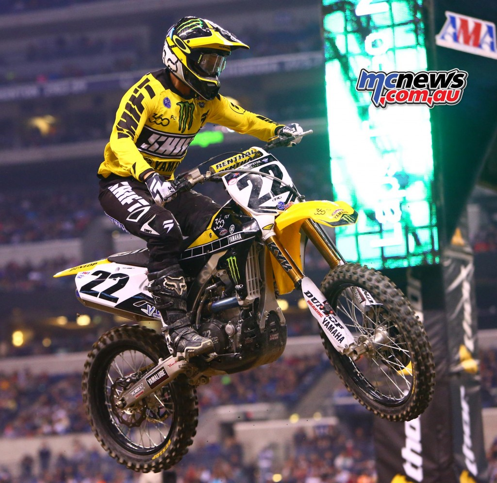 AMA SX 2016 - Round 13 - Indianapolis - Chad Reed