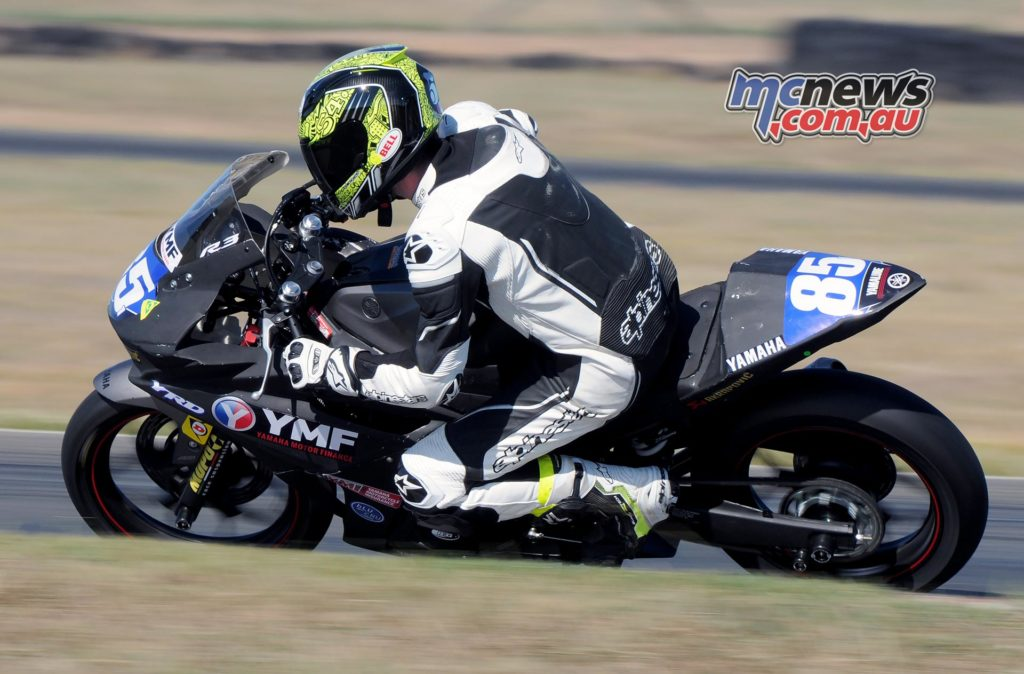 Ty Lynch - YZF-R3 Cup - Image by Keith Muir