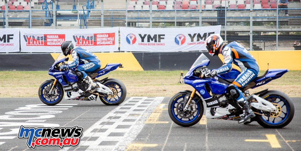 ASBK 2016 - Round Three- Sydney Motorsports Park - Race One Start