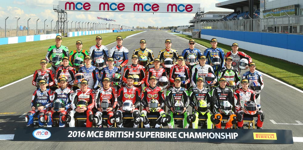 BSB 2016 - 32 riders representing eight nations line up for title fight
