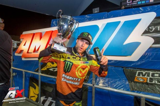 Chris Blose Won Both Nights or Arenacross Racing in Southern California
