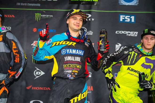 Cooper Webb is cool and a championship leader after his Santa Clara win