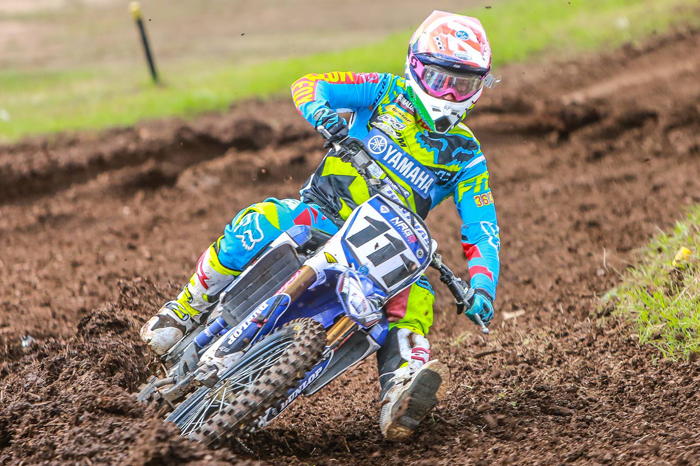 Dean Ferris has the red plate going into round three