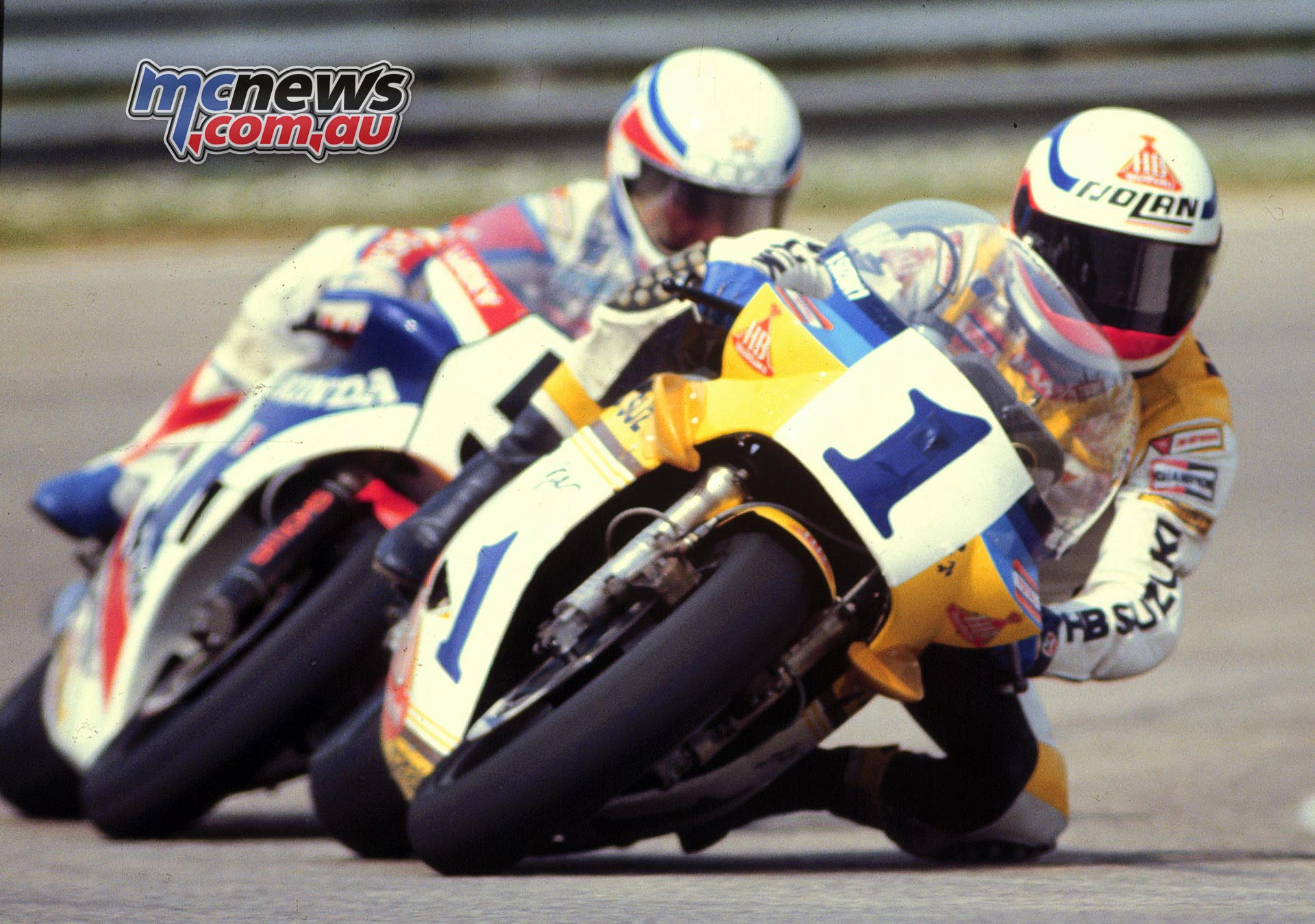 Uncini and Criville | MotoGP Legends | MCNews.com.au