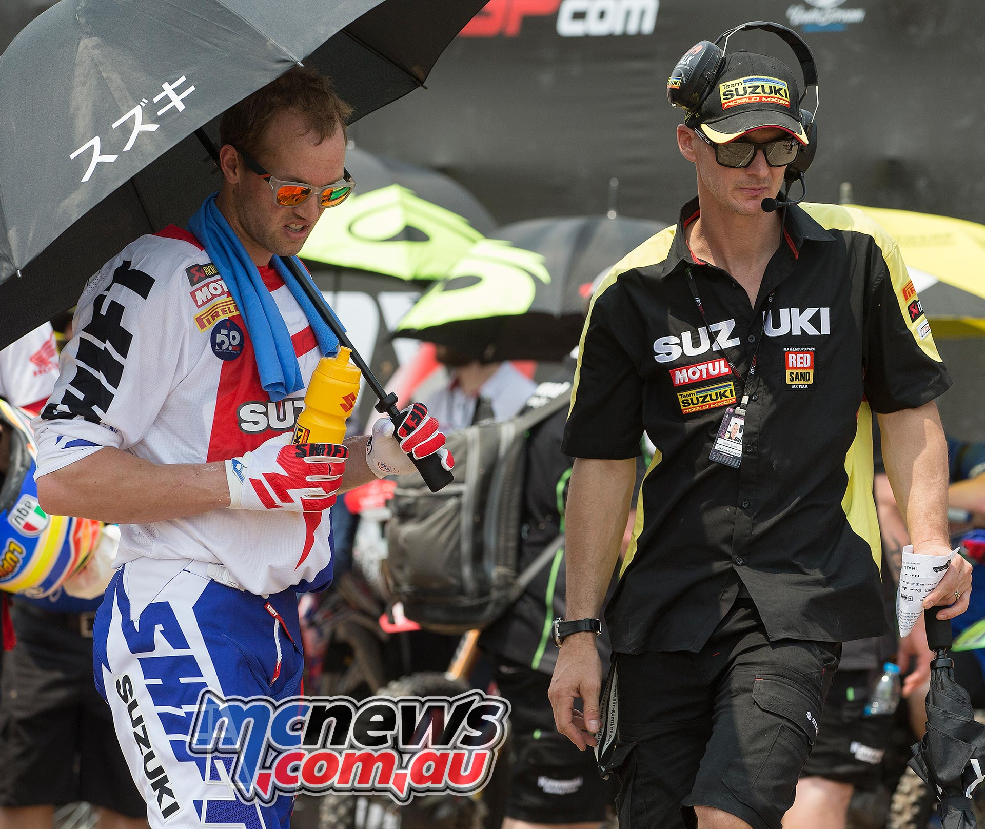 MXGP 2016 - Team Suzuki - Kevin Strijbos and Stefan Everts