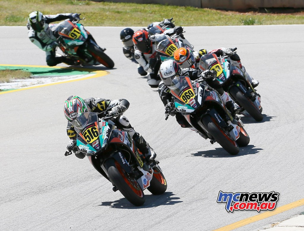 The first of two KTM RC Cup races was a wild affair with Anthony Mazziotto (516) beating Brandon Paasch (969) to the finish. Brandon Altmeyer (91) ended up third.