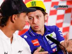 Yonny Hernandez and Valentino Rossi in Argentina 2016