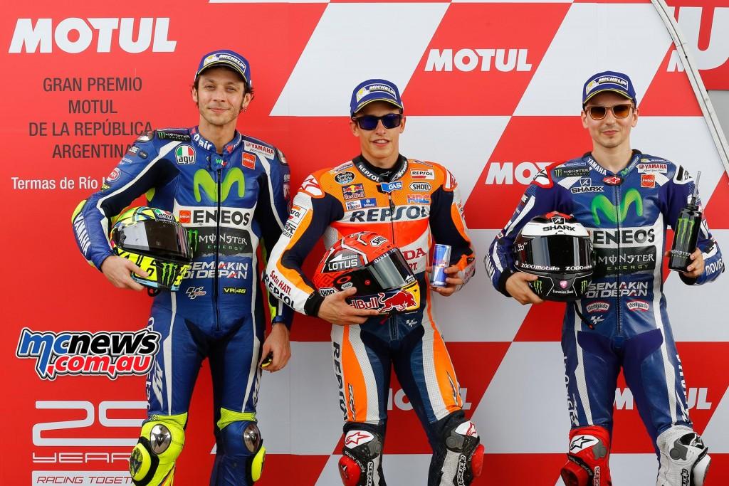 MotoGP Qualifying - Argentina 2016