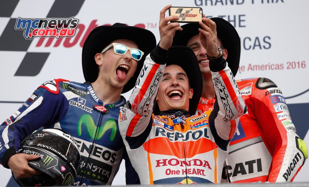 MotoGP 2016 - Round Three- COTA - Podium - MotoGP