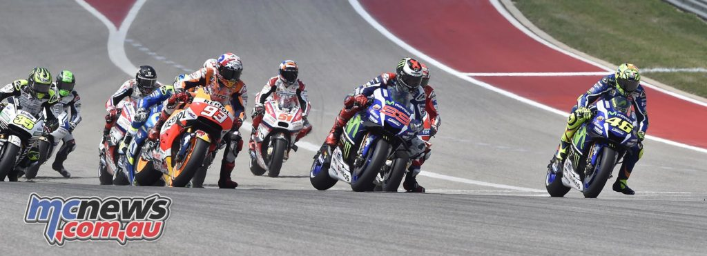 MotoGP 2016 - Round Three- COTA - Start