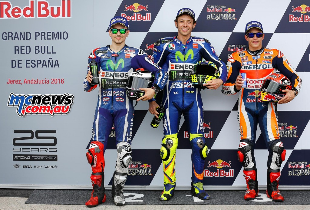 MotoGP Qualifying Jerez 2016