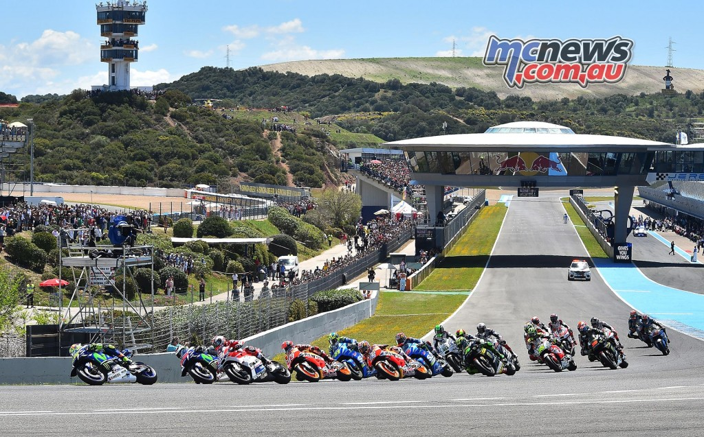 MotoGP 2016 - Jerez - Race Start