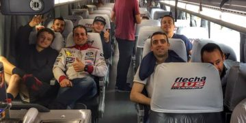 Some riders, including Jack Miller, undertook and eight hour bus journey out of Termos De Rio Hondo in efforts to try and make COTA MotoGP. Photo Ian Wheeler