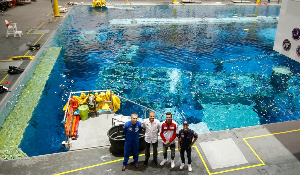 Neutral Buoyancy Centre is where astronauts simulate space conditions