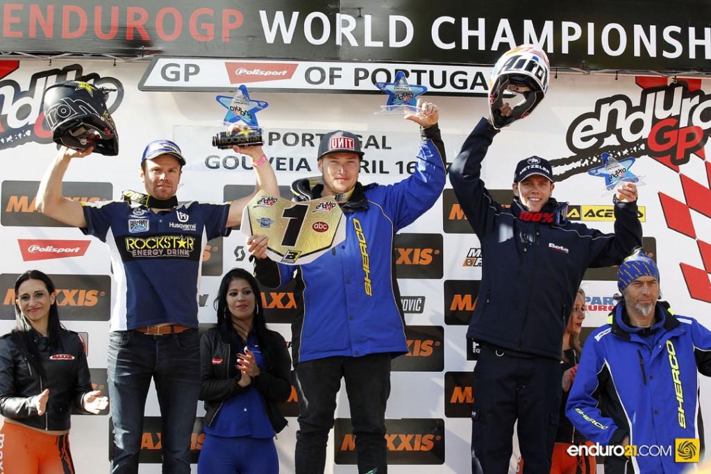 Phillips on top of Enduro GP podium