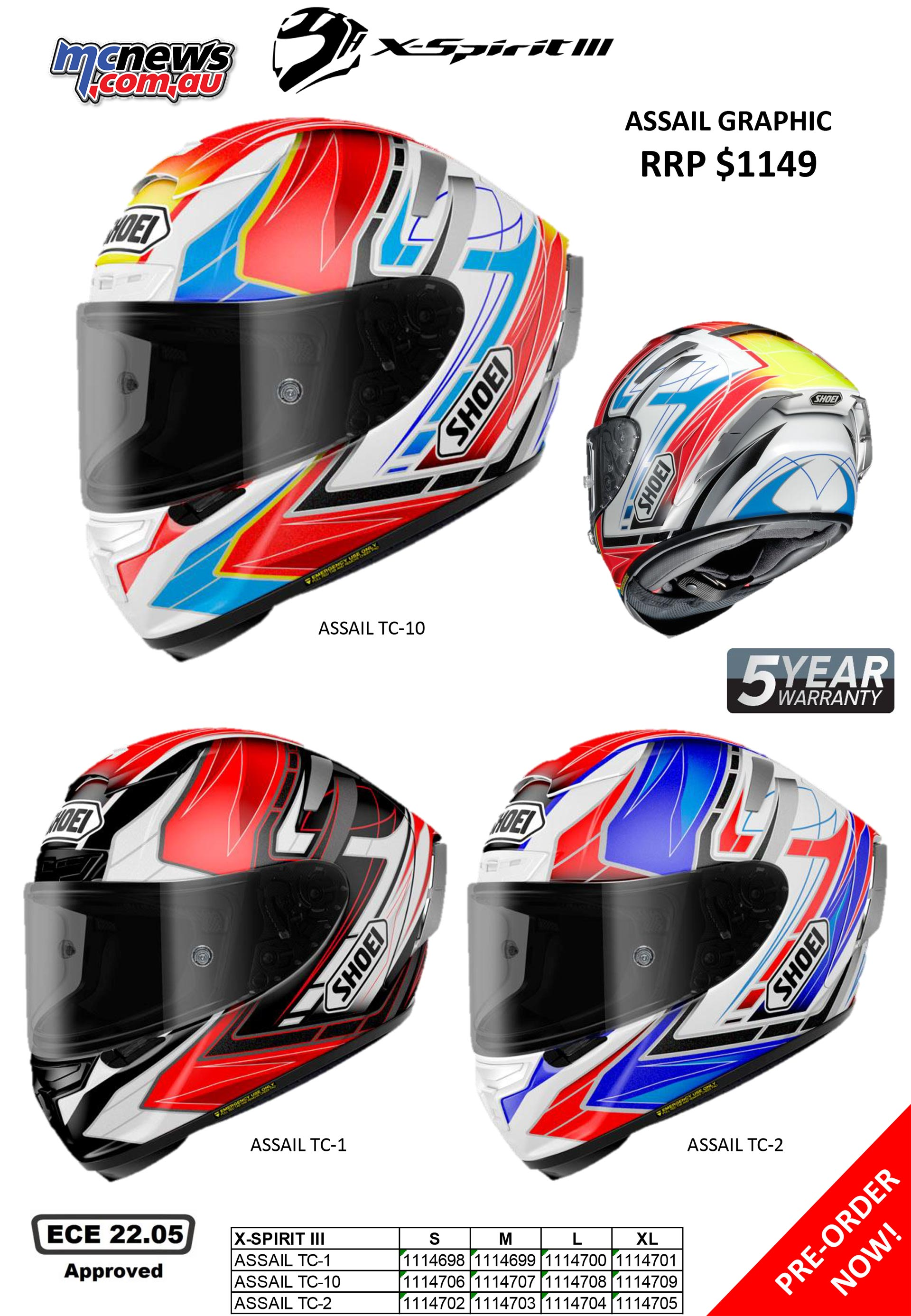 shoei x spirit 3 review