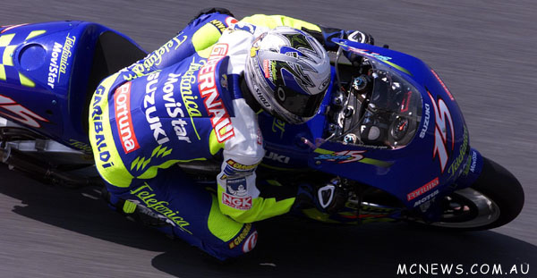 MotoGP 500cc World Championship 2001 - Round One - Suzuka - Sete Gibernau