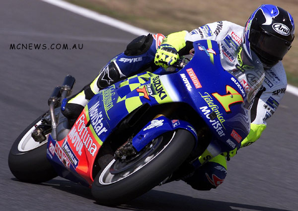 MotoGP 500cc World Championship 2001 - Round One - Suzuka - Kenny Roberts