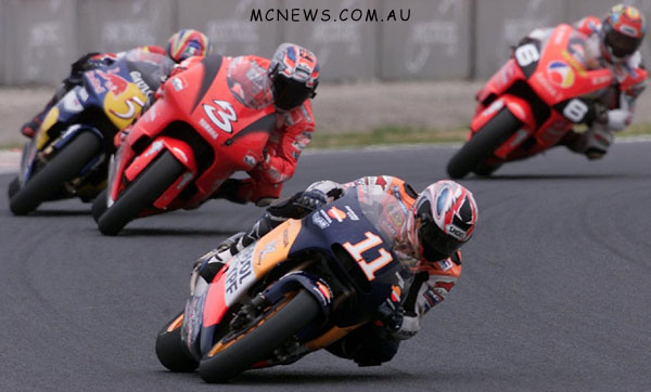MotoGP 500cc World Championship 2001 - Round One - Suzuka - Tohru Ukawa