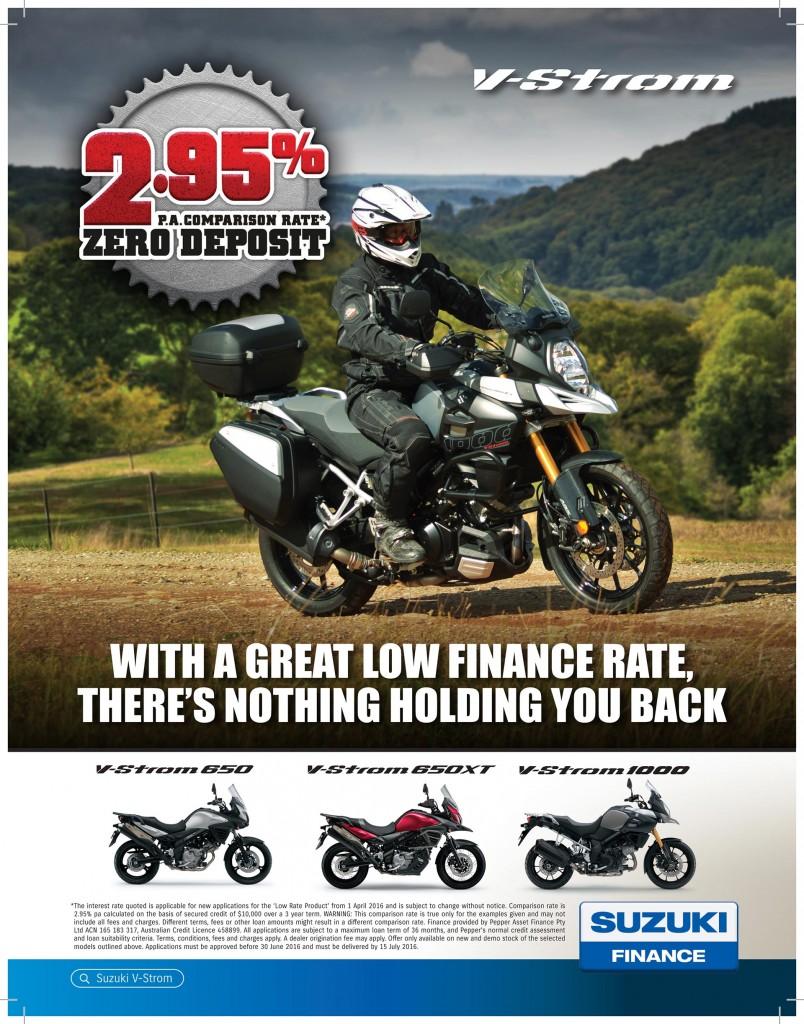 Suzuki Finance Offer 2016