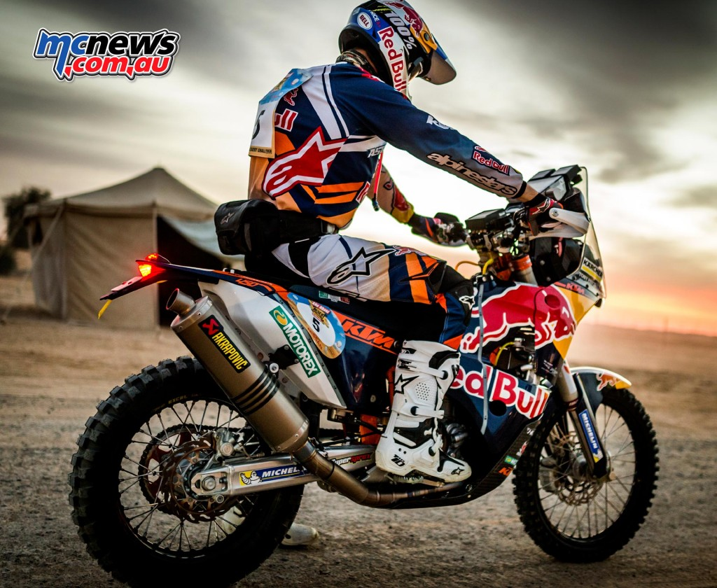 Toby Price - Abu Dhabi Rally 2016