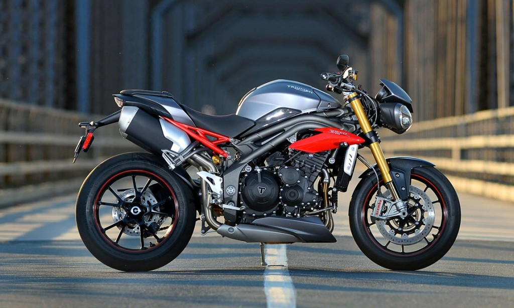 Motorcycle Tests - 2016 Triumph Speed Triple