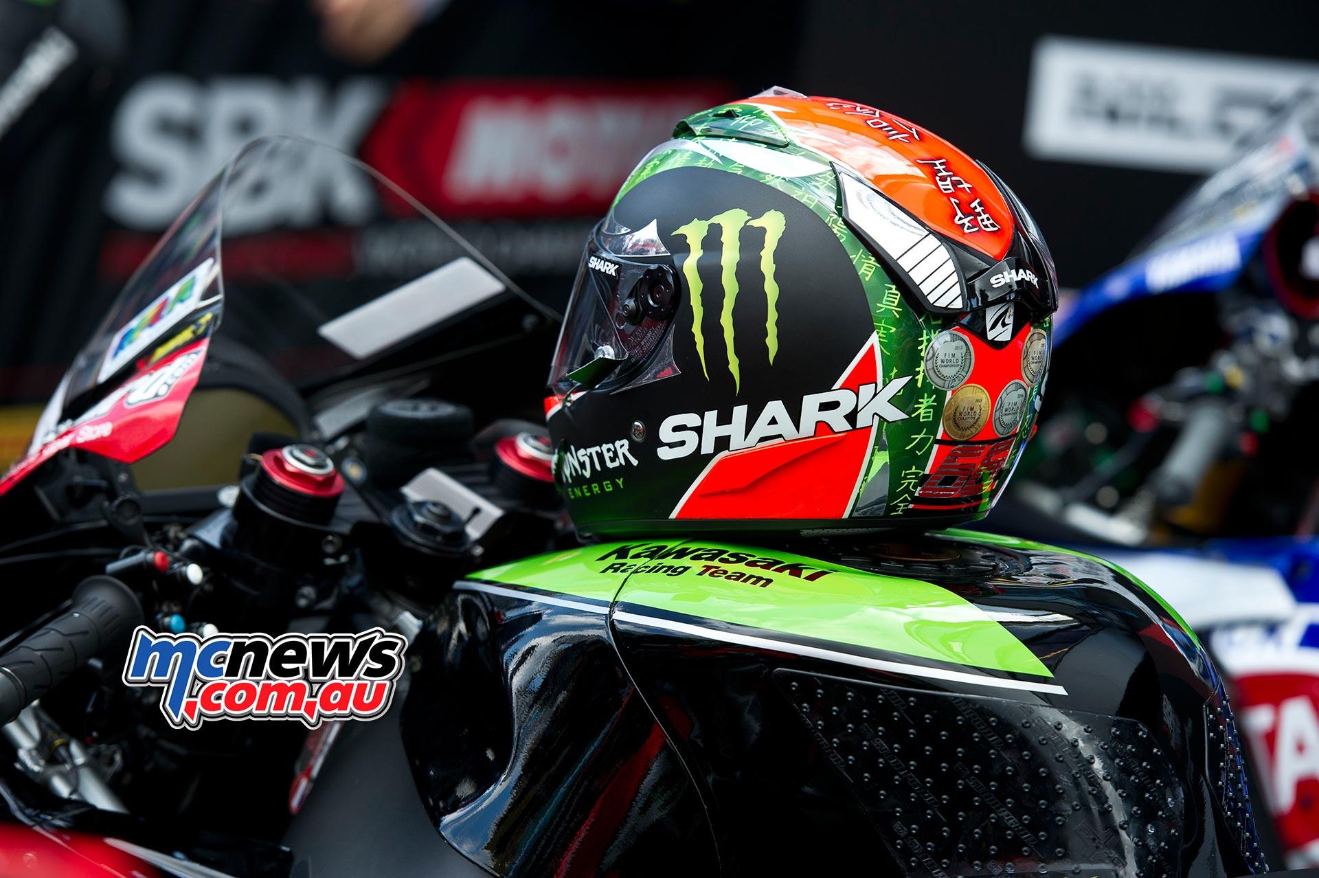 Tom Sykes - Shark Helmet