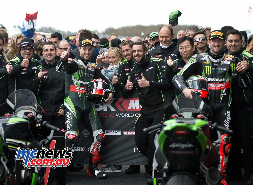 WorldSBK 2016 - Assen - Race Two - Jonathan Rea and Tom Sykes