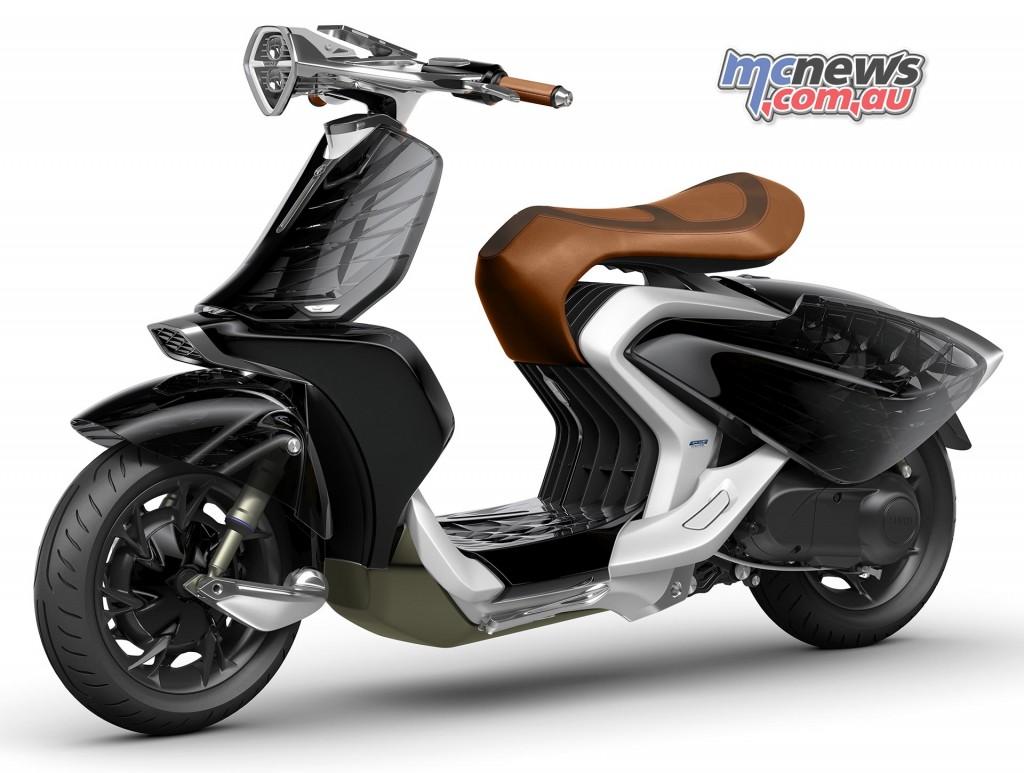 Yamaha 04GEN Scooter