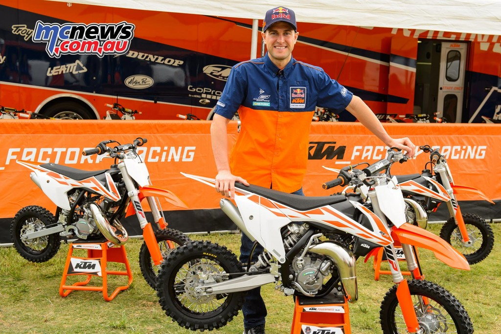 KTM SX Mini Launch with Ryan Dungey