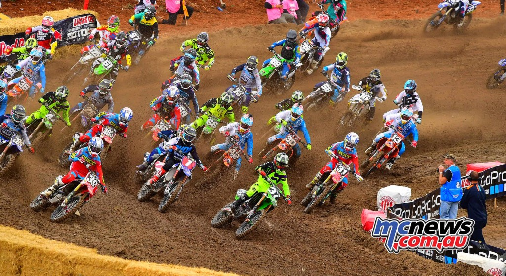 Lucas Oil AMA Pro Motocross 2016 - Round One - Hangtown - 250cc Start