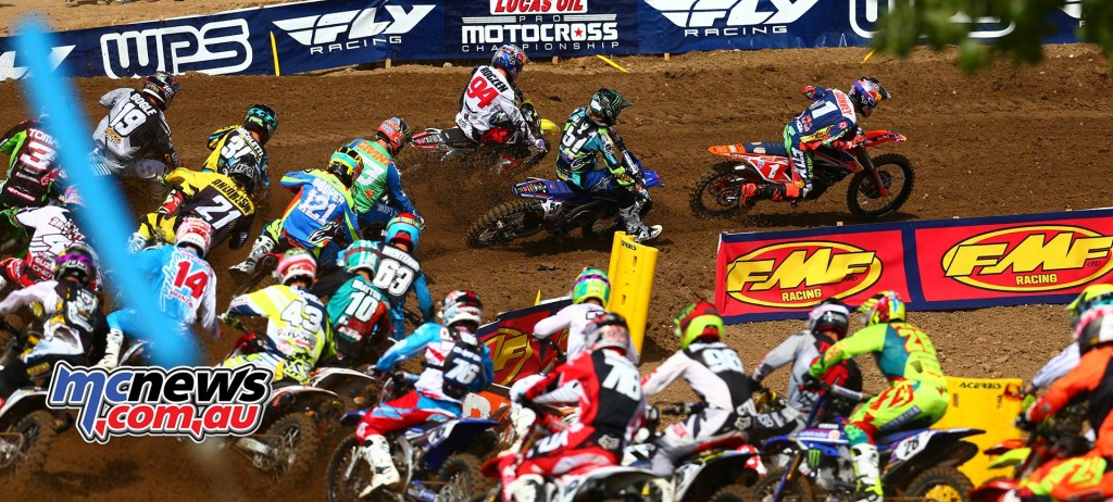 Lucas Oil AMA Pro Motocross 2016 - Round One - Hangtown - 450cc Start