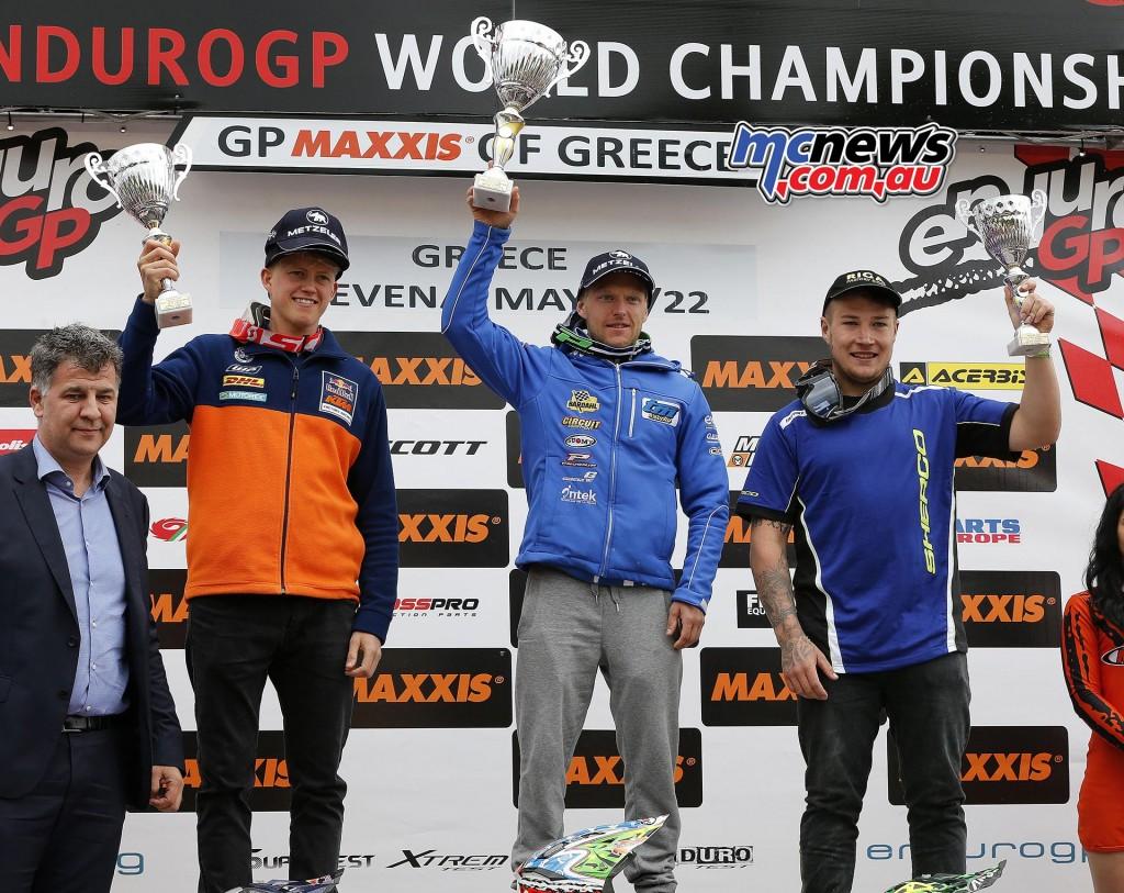 FIM EnduroGP World Championship 2016 - Round Three - GP of Greece - EnduroGP Day One
