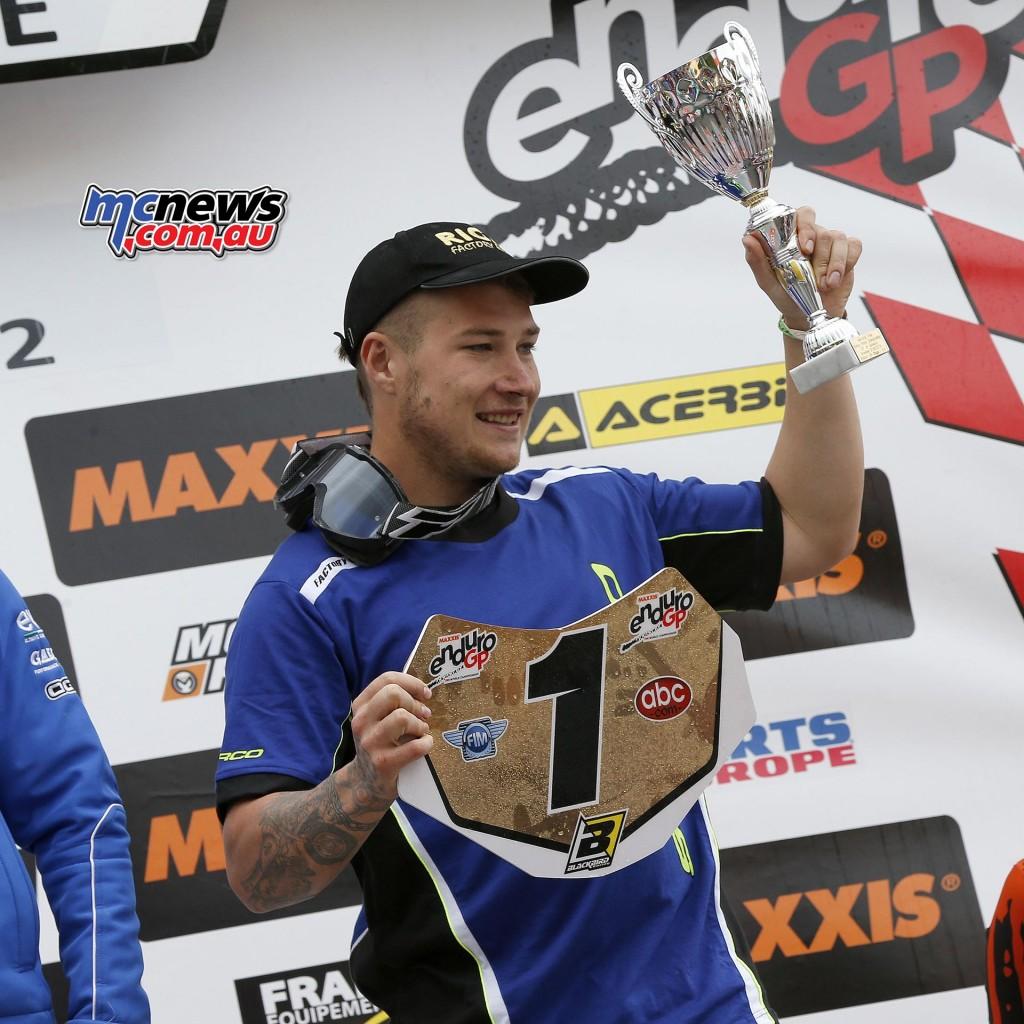 FIM EnduroGP World Championship 2016 - Round Three - GP of Greece - Matt Phillips