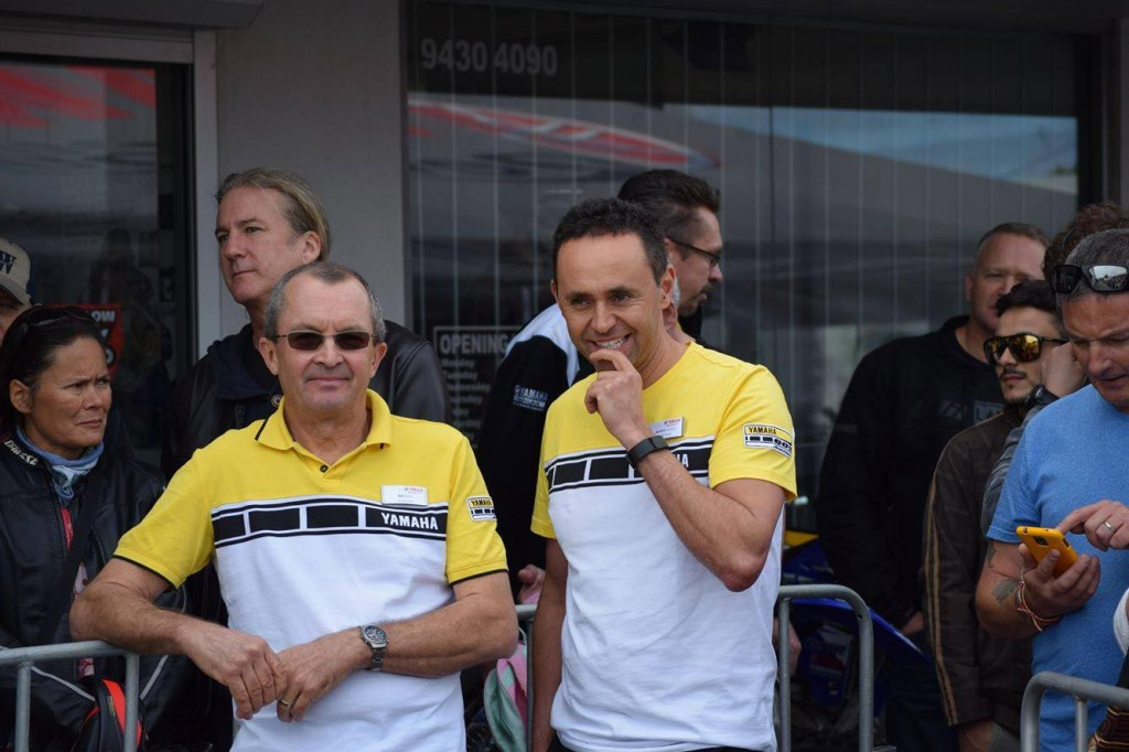 Five Star Yamaha - Dealer Principal Bill Zwick and long term head salesman Aurelio Tacconi