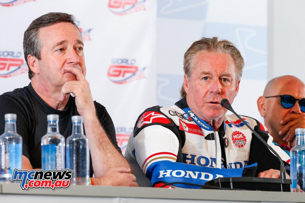 World GP Bike Legends - Freddie Spencer, Wayne Gardner