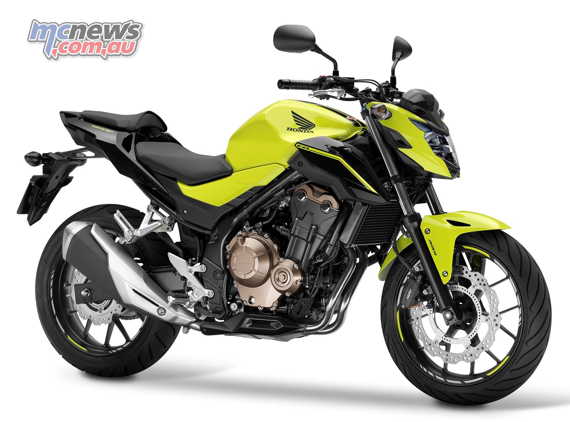 Honda CB500F - 2016