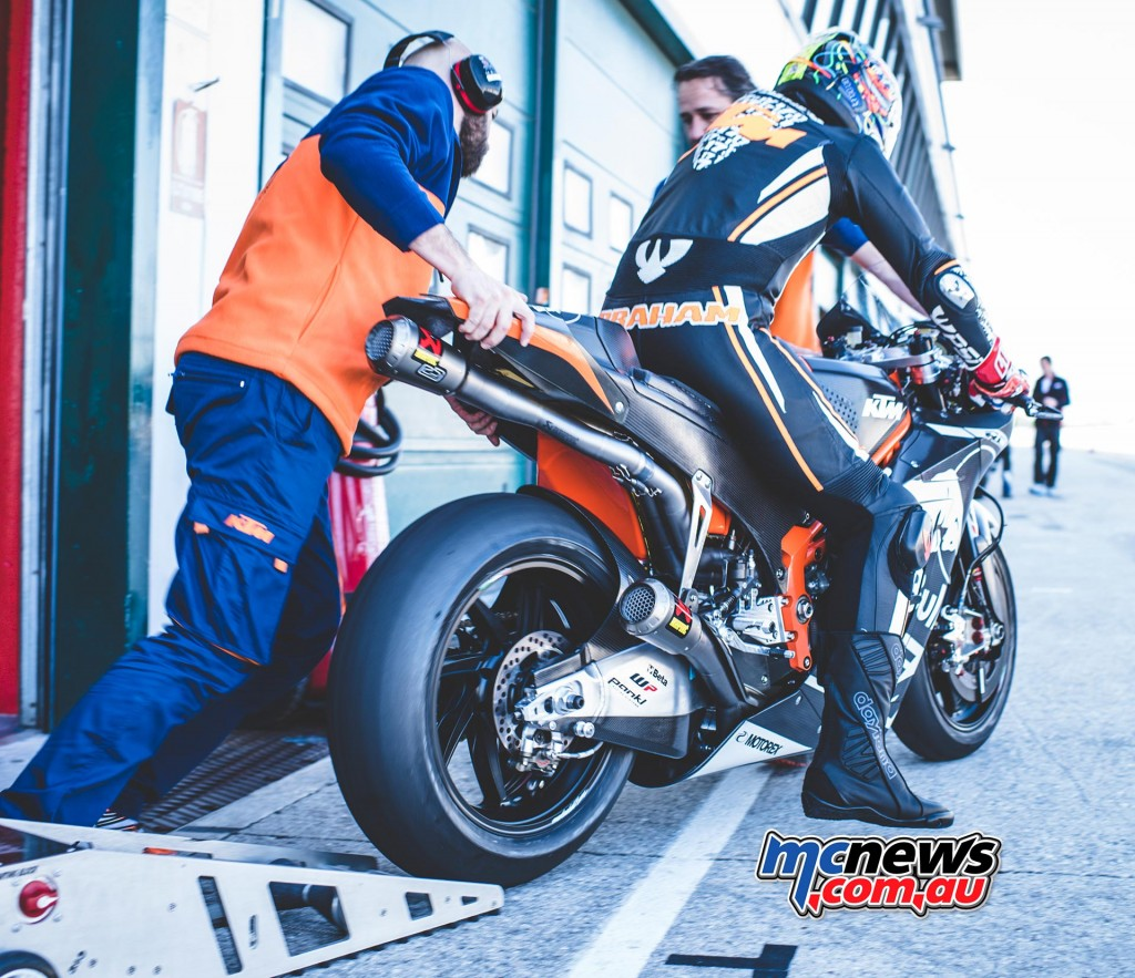 KTM MotoGP Test at Misano - Karel Abraham