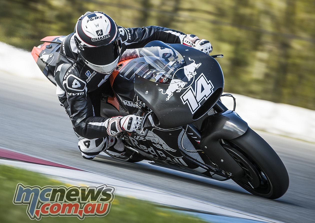 KTM MotoGP Brno 2016 - Randy De Puniet