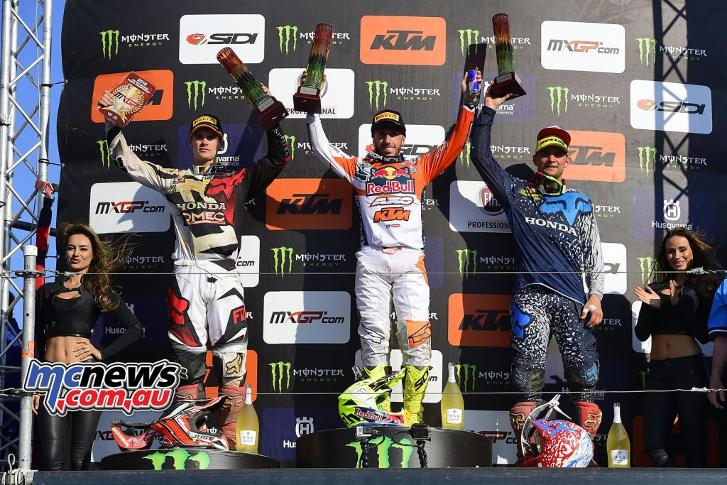 MXGP 2016 - Germany - MXGP Podium