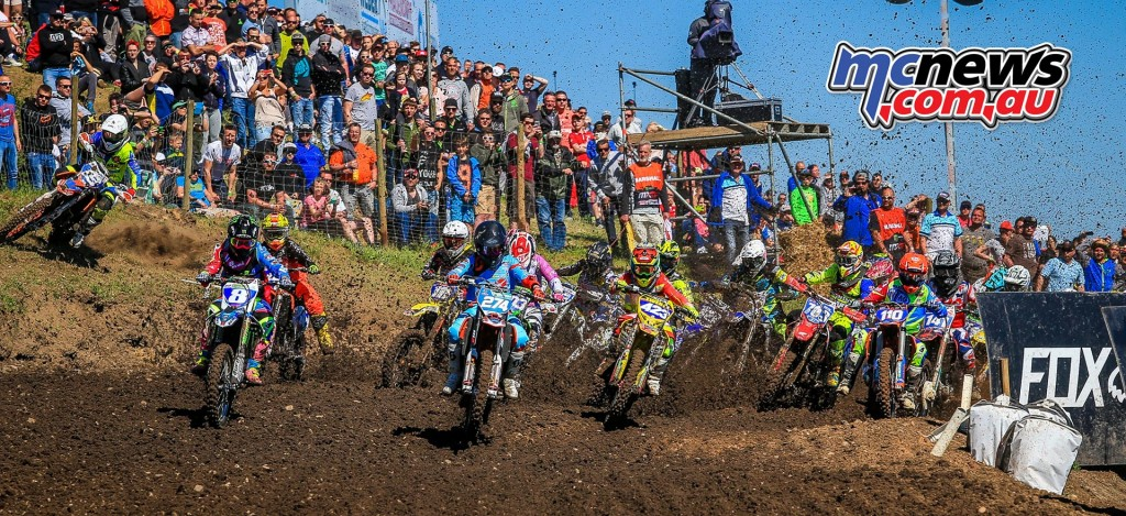 MXGP 2016 - Germany - WMX Start