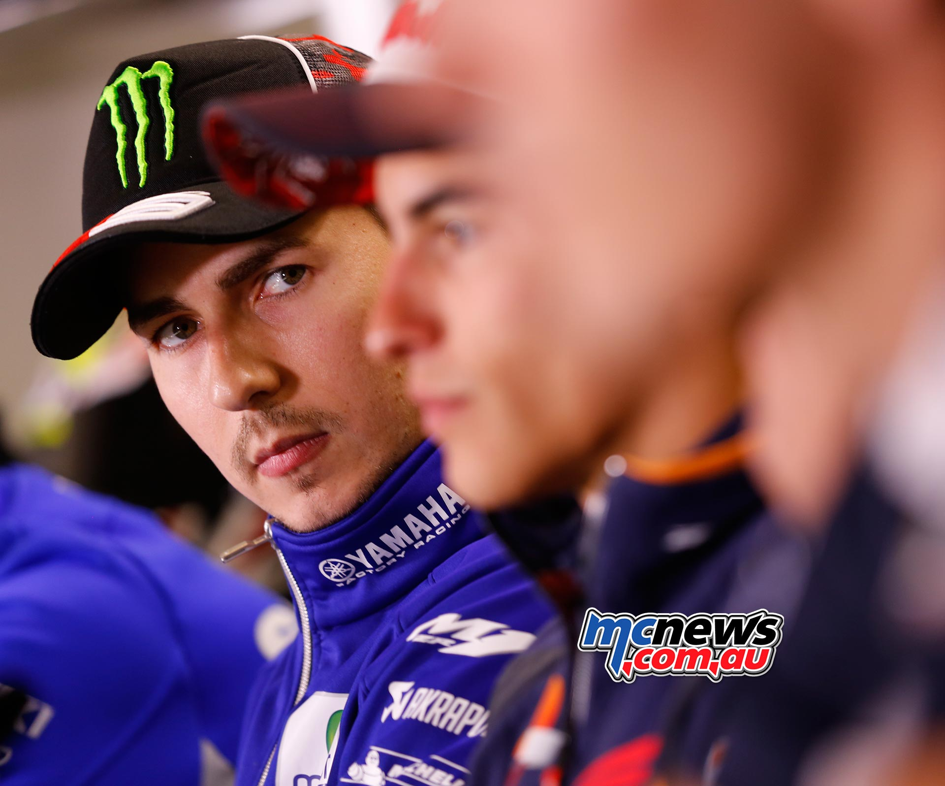 MotoGP 2016 - Round Five - Le Mans Press Conference - Jorge Lorenzo with Marc Marquez