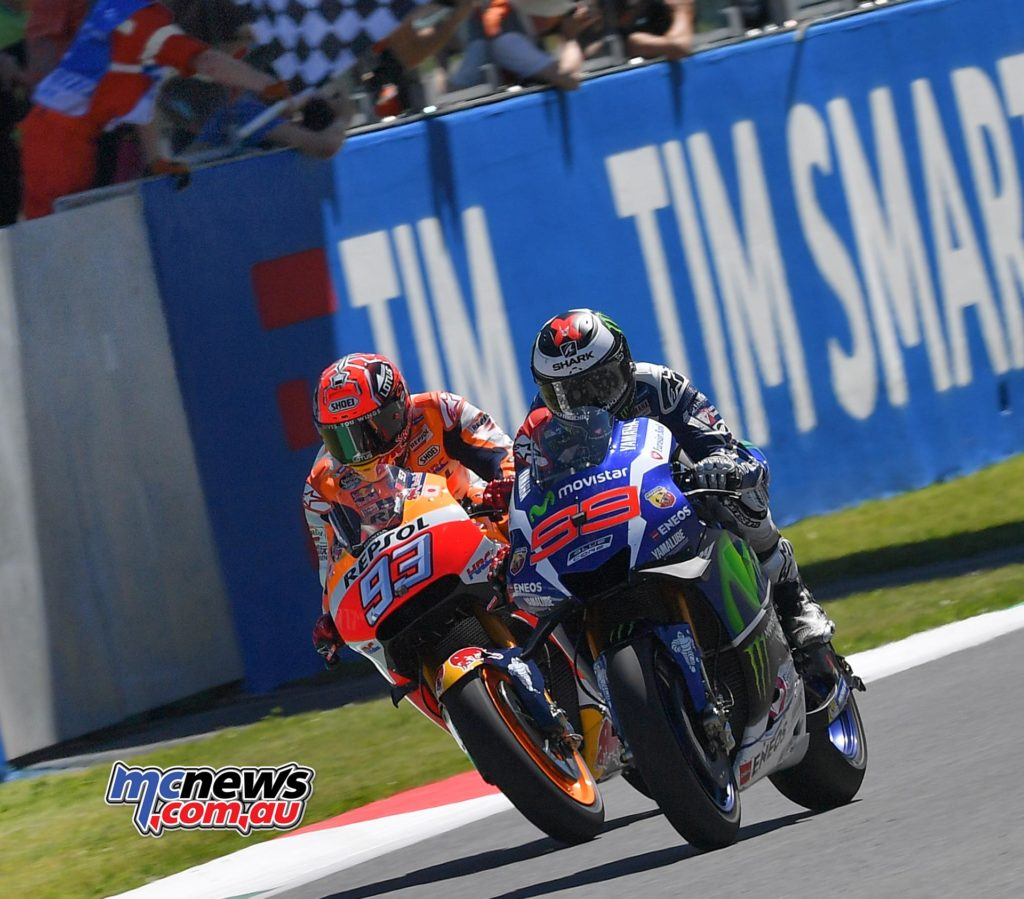Jorge Lorenzo beats Marc Marquez to the flag at Mugello MotoGP 2016