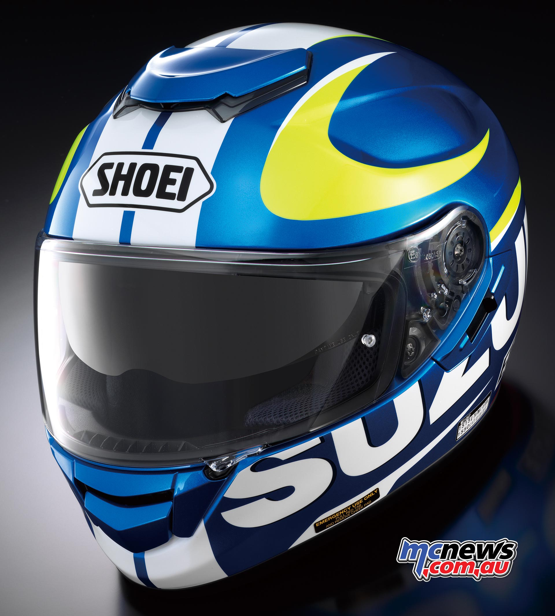 Shoei GT-Air Suzuki MotoGP Helmet