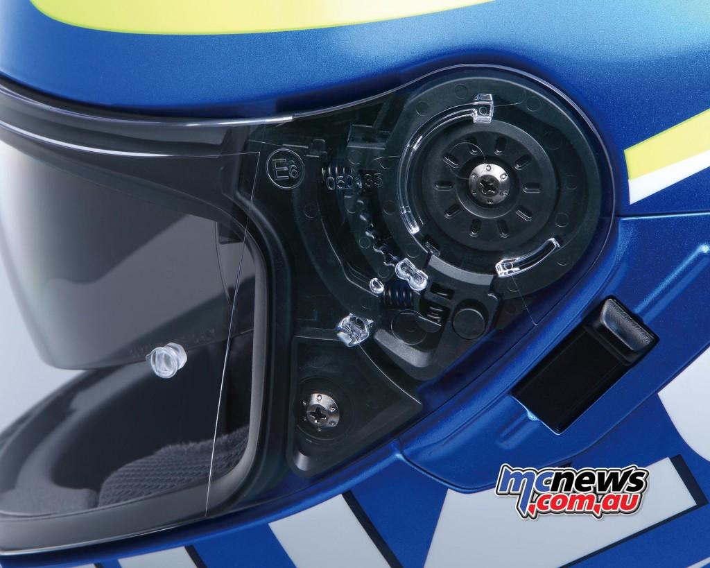 Shoei Gt Air >> Shoei GT-Air Suzuki MotoGP Helmet   MCNews.com.au
