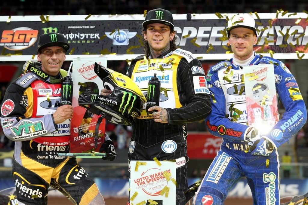 "Double world champion Tai Woffinden admitted ""I feel on top of my game"" after battling to LOTTO Warsaw FIM Speedway Grand Prix of Poland victory at a packed PGE Narodowy on Saturday evening."