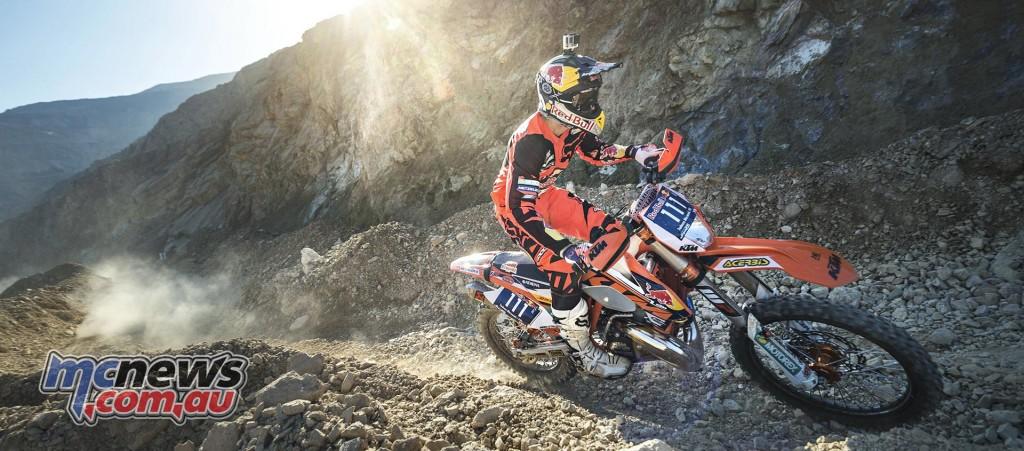 Taddy Blazusiak will ride a KTM 250 EXC at Erzberg