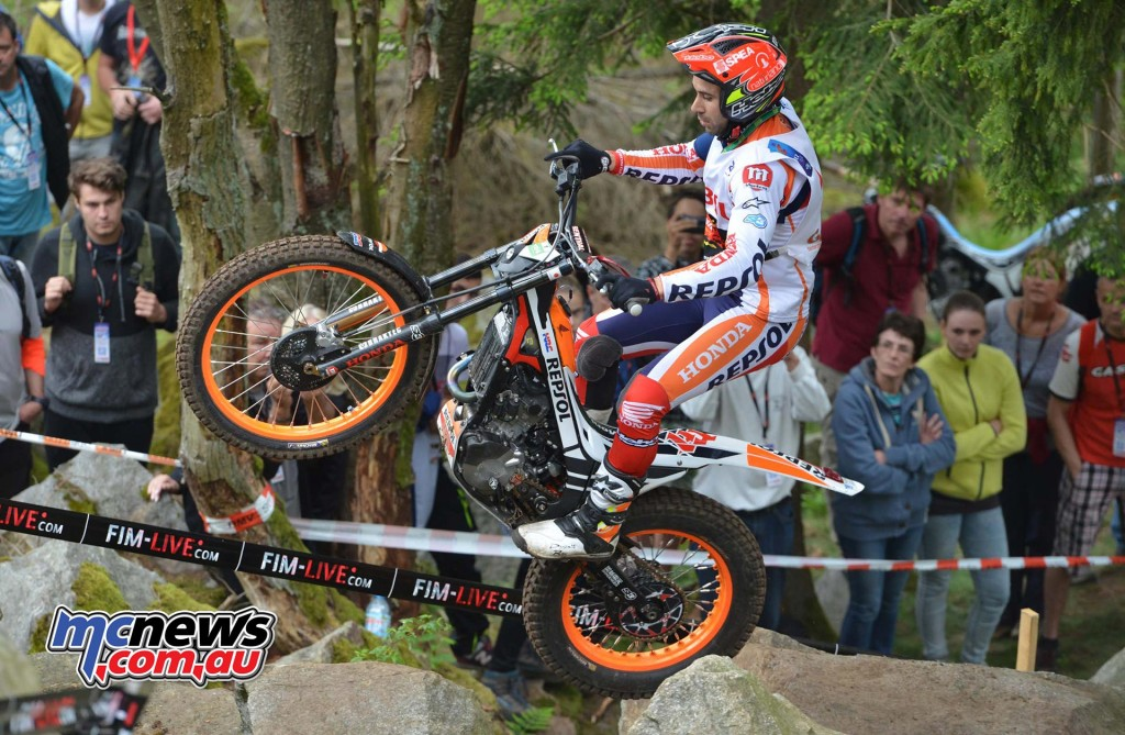Toni Bou completed a double this weekend with wins on both Saturday and Sunday of the German GP in Gefrees.