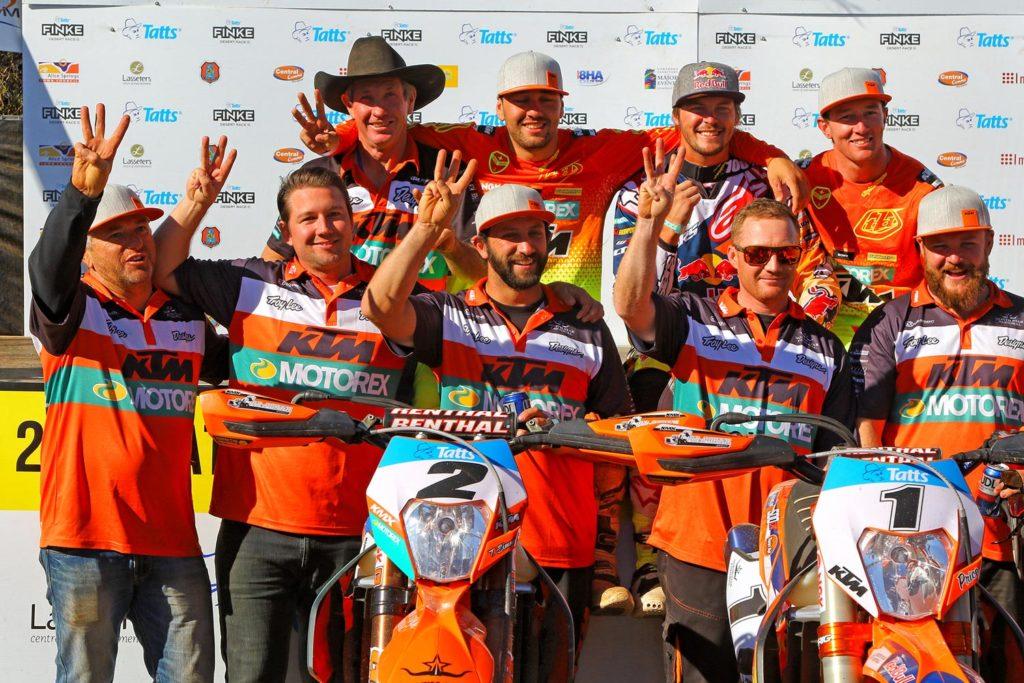Finke 2016 - Team KTM